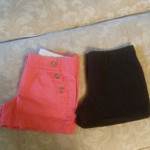 LOFT SHORTS SIZE 4 TWO PAIR